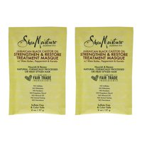 Jamaican Black Castor Oil Strengthen-Grow and Restore Treatment Masque by Shea Moisture for Unisex - - Pack of 2