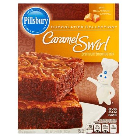 Pillsbury Chocolatier Collection Caramel Swirl Premium