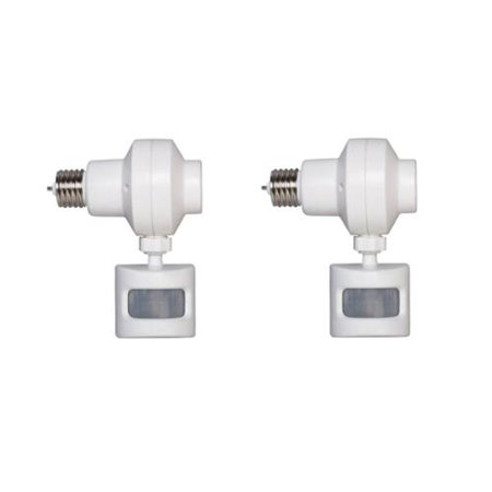 Westek OMLC3BC Outdoor Motion Activated Light Control (2 Pack)