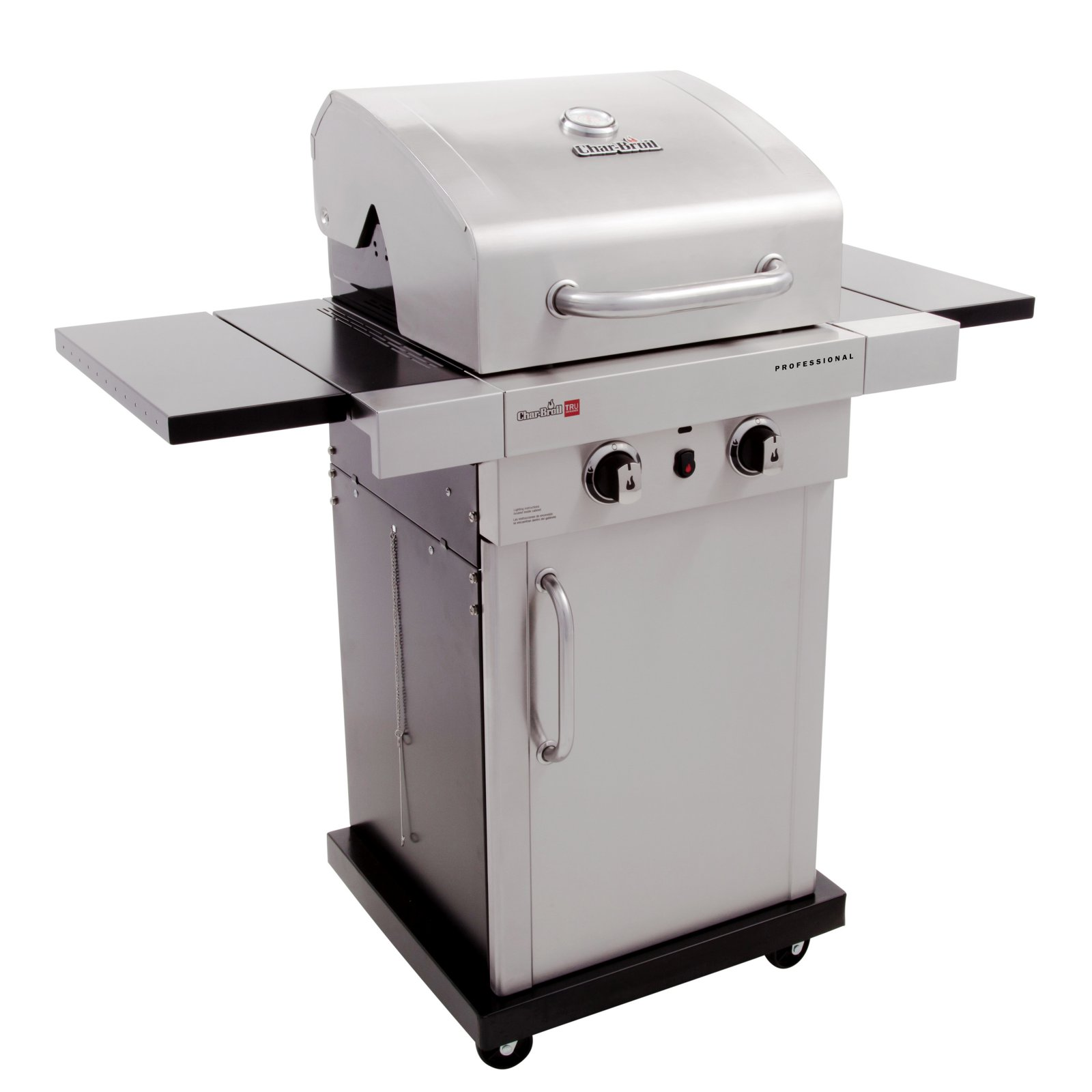 Char-Broil Professional Series TRU-Infrared 2-Burner Cabinet Gas Grill by Gas Grills