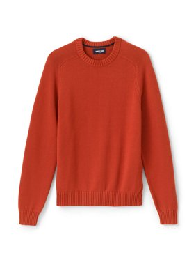 Lands' End Men's Cotton Drifter Crew Sweater