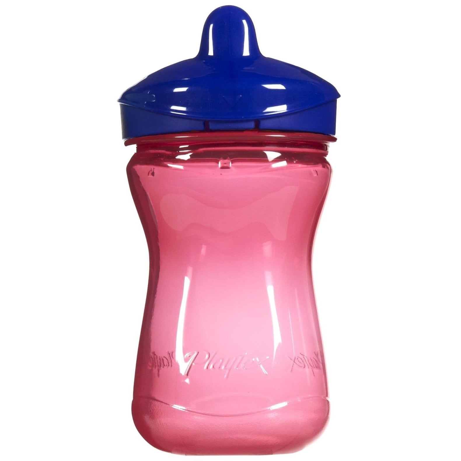 Playtex  Anytime Pink/Blue 9-ounce Spill Proof Spout Cup