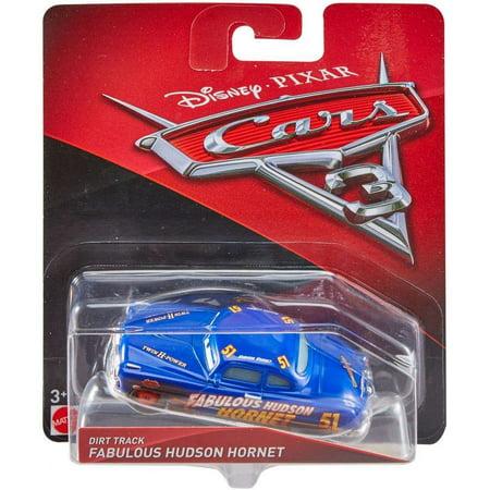 Disney Pixar Cars 3 Dirt Track Fabulous Hudson Hornet Die Cast