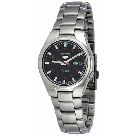 5 SNK617 Men's Stainless Steel Black Dial Day Date Automatic (Oris Tt1 Day Date Automatic 7517 41)