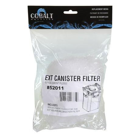 Cobalt aquatics floss for ext aquarium canister filter for Fish filter walmart