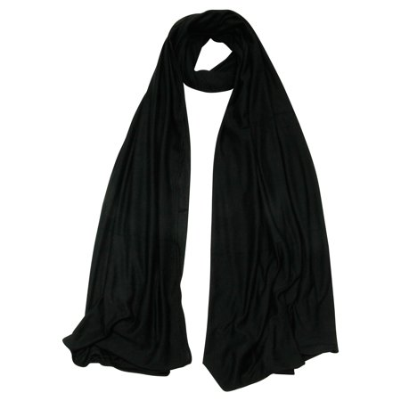 - Soft Stretch Lightweight Rectangle Women's Scarf Jersey Hijab