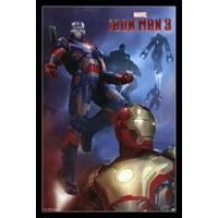 Marvel Iron Man 3 - Patriot Poster Print