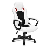 Gymax Executive Racing Style High Back Bucket Seat Office Chair