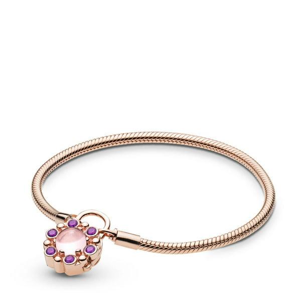 Pandora Pandora Rose Moments Heraldic Radiance Padlock Bracelet 587635npm 21 Walmart Com Walmart Com