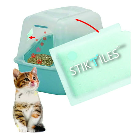Easy Odor Eliminator StikTiles, Neutralize Pet Odor Instantly - 8 month