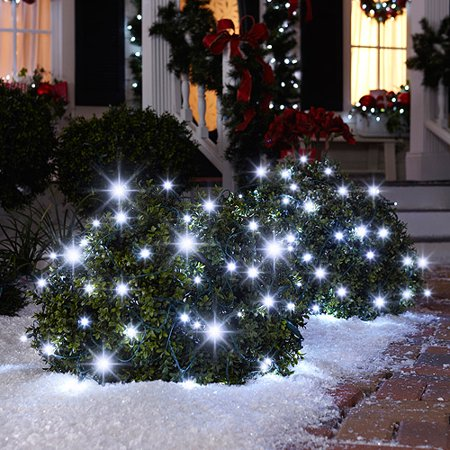 70 count sparkle net christmas lights w