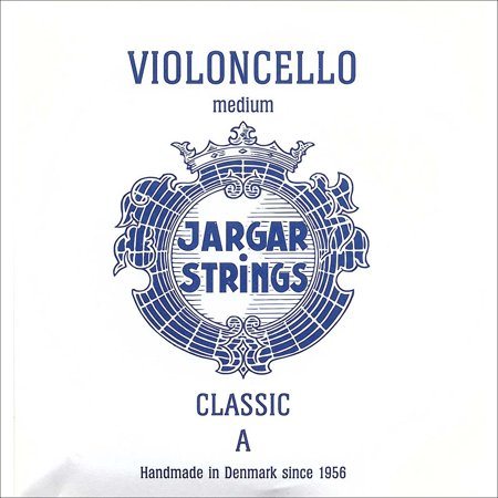 Jargar Classic 4/4 Cello A String - Medium Gauge - Chromesteel Wound Steel Core