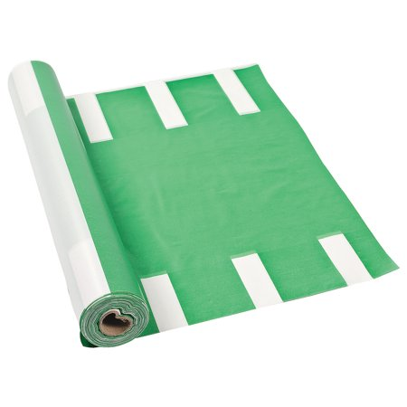 Fun Express - Football Field Tablecloth Roll - Party Supplies - Table Covers - Print Table Rolls - 1 Piece - Football Field Supplies