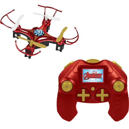 Offer Marvel Avengers Iron Man Micro Drone 4.5-Channel 2.4GHz RC Quadcopter Before Too Late