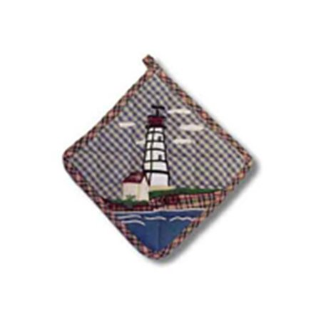 Fire Magic Pot - Patch Magic PHLBBY Lighthouse By Bay, Pot Holder 8 x 8 in.