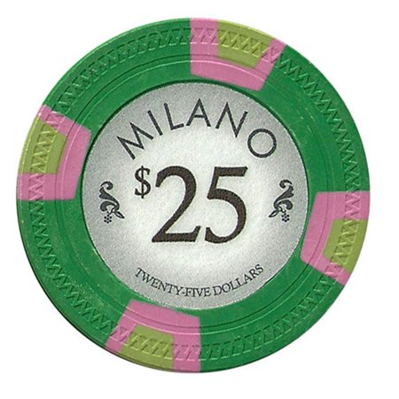 """Roll of 25 - Milano 10 Gram Clay - $25"""