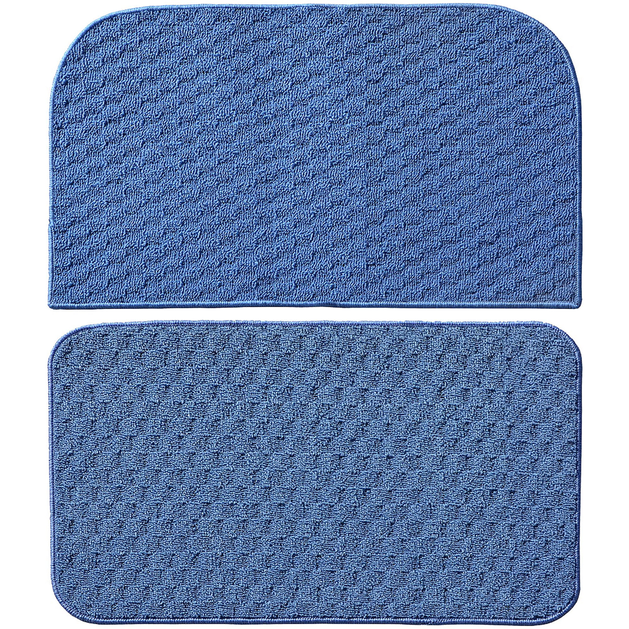 Garland Rug Town Square 2pc Kitchen Rug Slice and Mat, 18\