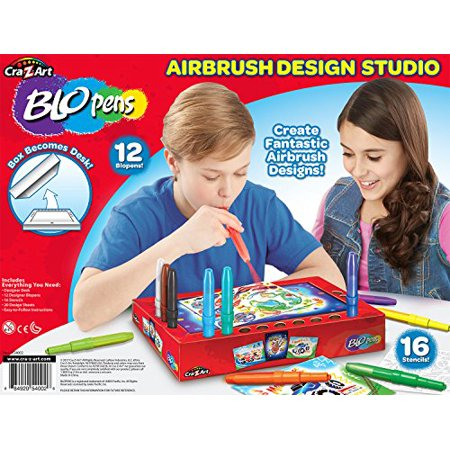 Cra Z Art Blo Pens Airbrush Design Studio Craft Kit (50 (Compact Art Kit Design)