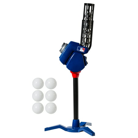 Franklin Sports MLB 4-In-1 Baseball Pitching Machine (with 6 Aero-Strike Balls) Pitching Machine Screen