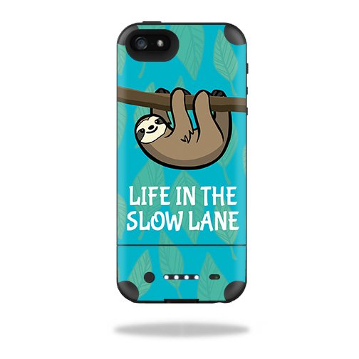 Skin For Mophie Juice Pack Air iPhone 5 Battery Case – Slow Sloth |  MightySkins Protective, Durable, and Unique Vinyl Decal wrap cover | Easy  To