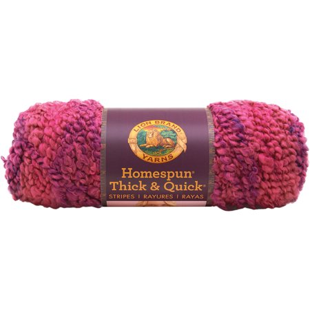 Homespun Yarn : Homespun Thick & Quick Yarn-Wildberries Stripes - Walmart.com