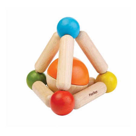 Triangle Clutching Toy - PlanToys Triangle Clutching Baby Toy