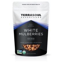 Dried Fruit & Raisins: Terrasoul White Mulberries