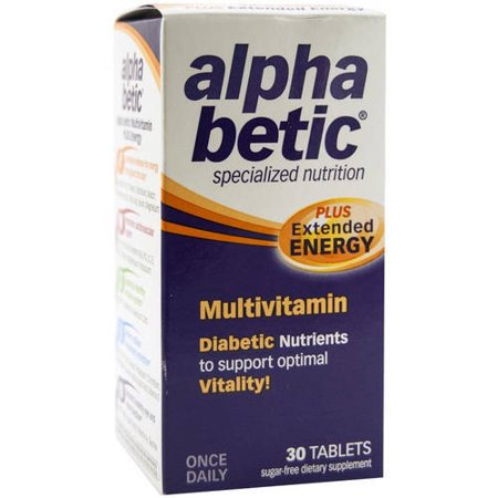 Image of Alphabetic Multi-Vitamins Diabetes, 30 CT