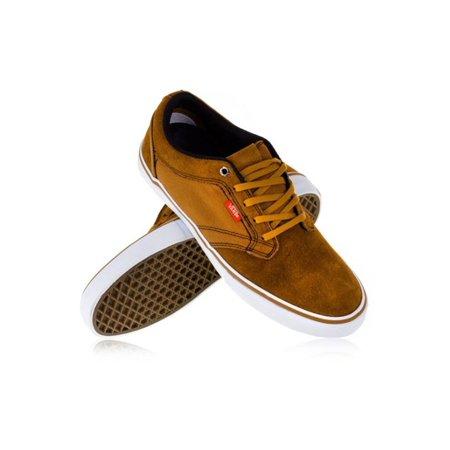 16c41c5d25 Vans - Vans Mens Otw Type Ii Canvas Leather Sneakers bonebrown 6.5 -  Walmart.com