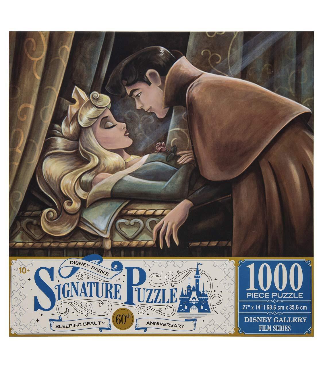 56 Piece Jigsaw puzzle Sleeping Beauty Princess Aurora Canvas puzzle