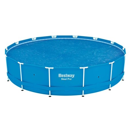 Bestway 14' Round Floating Above Ground Swimming Pool Solar Heat Cover | (Best Way To Lower A1c)