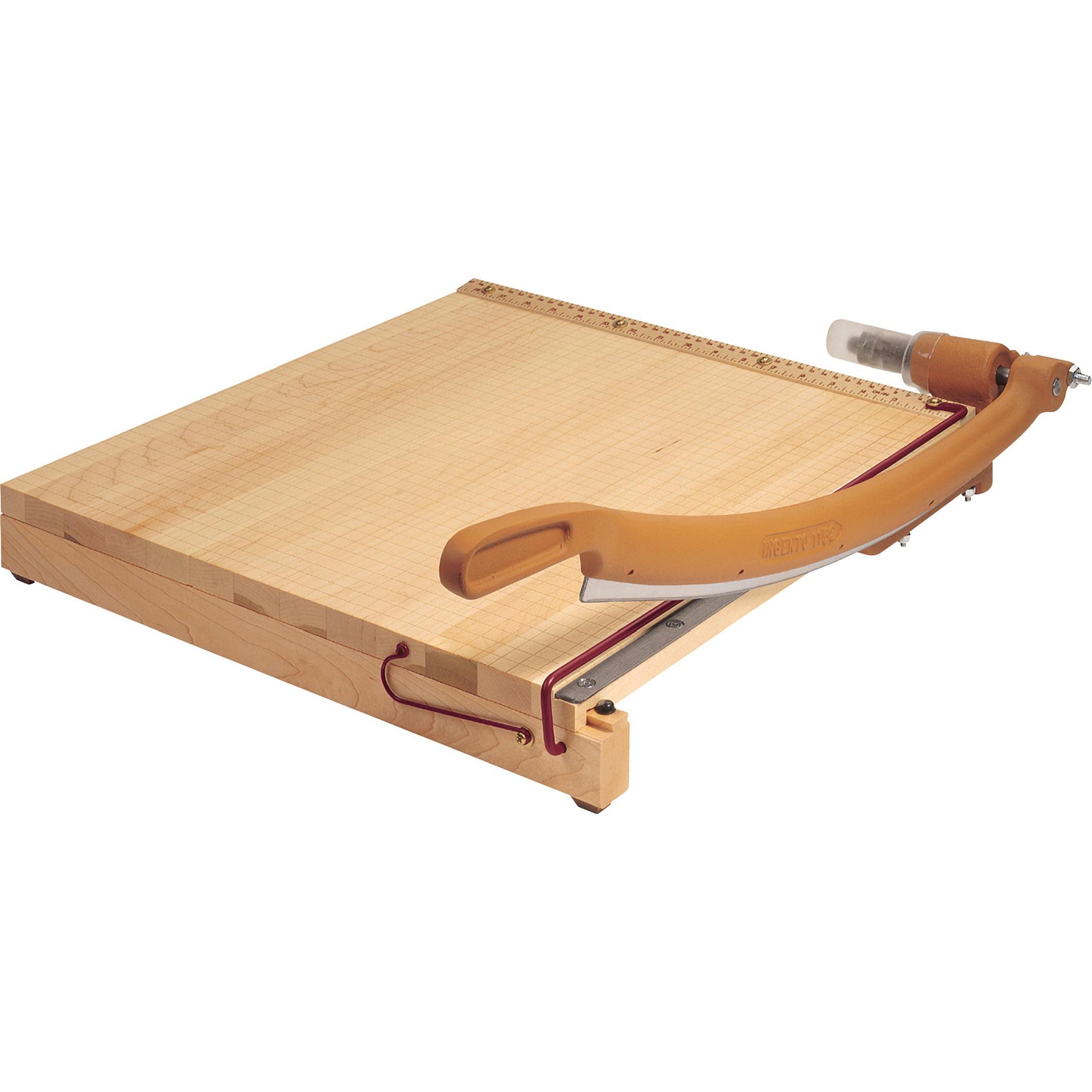 "Swingline ClassicCut Igento 15"" Square Paper Trimmer, Solid Maple base by ACCO Brands Corporation"