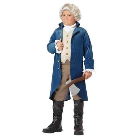 Halloween Costumes Hamilton (California Costumes George Washington/Thomas Jefferson/Alexander Hamilton and Colonial Child Costume,)