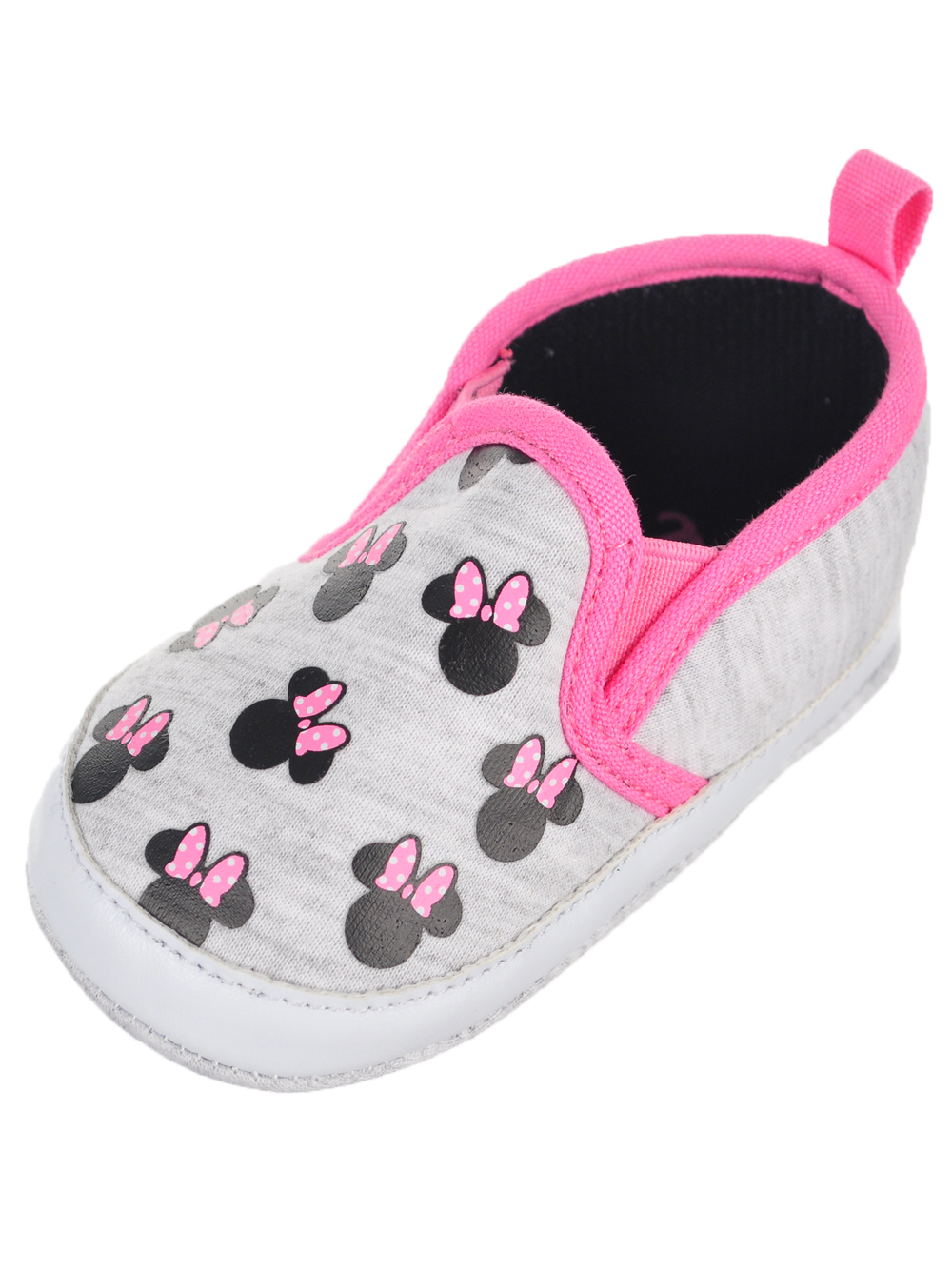 Disney Minnie Mouse Baby Girls' Slip-On Booties