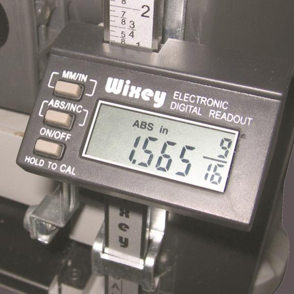 Wixey Digital Planer Height Gauge