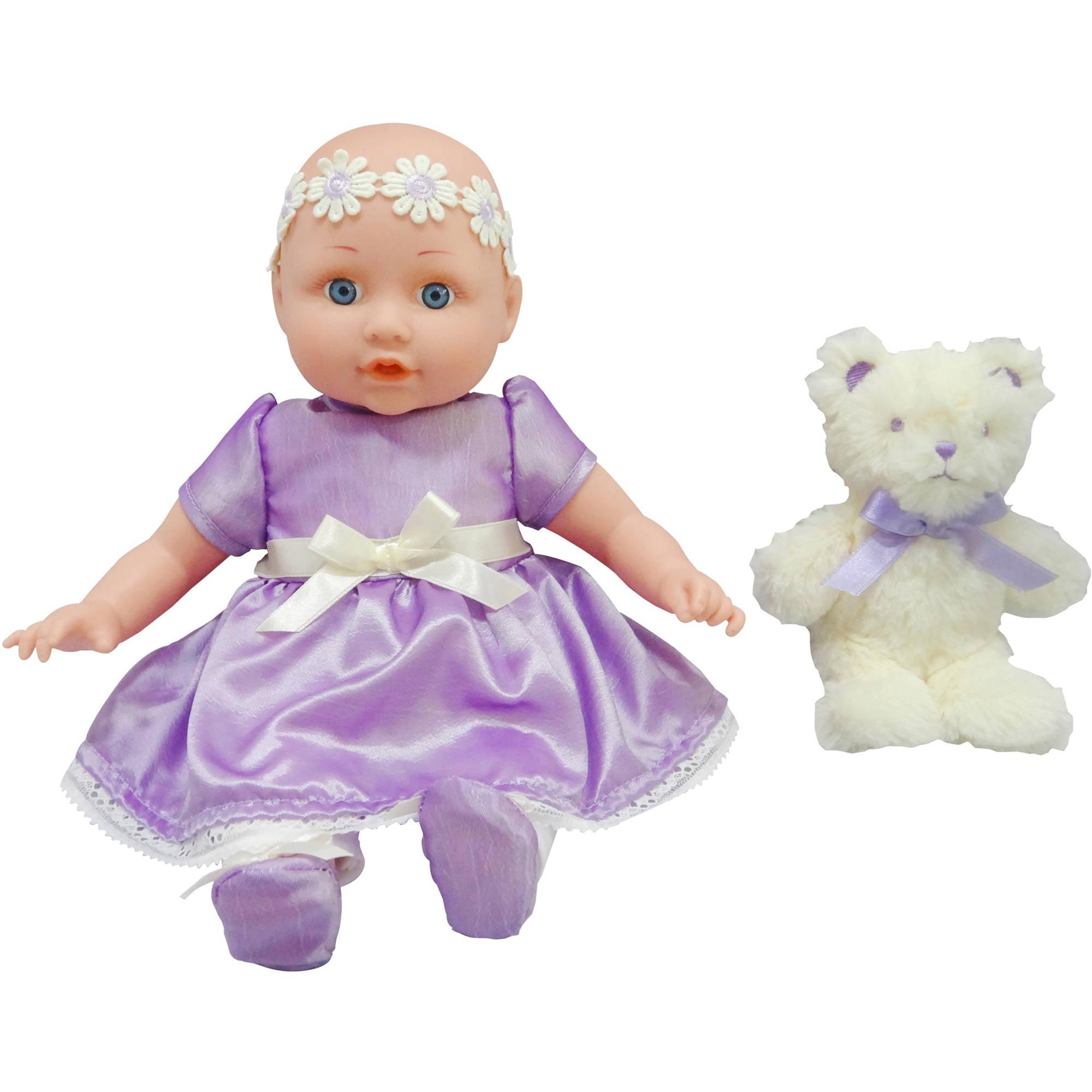 My Sweet Love Baby Doll & Plush Bear by
