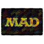 Mad So Much Mad Woven Throw White 48X80