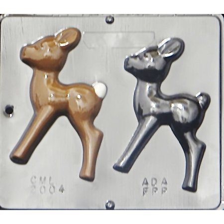 2004 Reindeer Chocolate Candy Mold (Reindeer Candy)