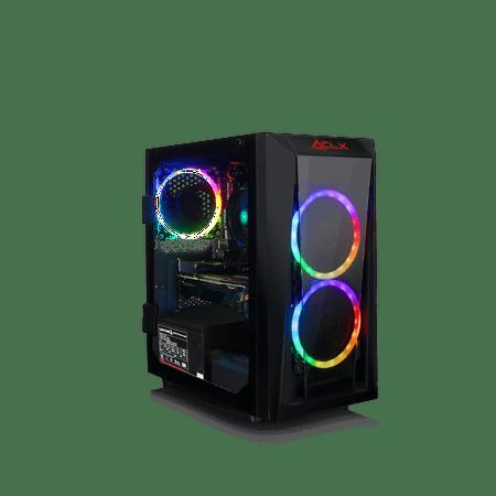 CLX SET GAMING AMD Ryzen 3 3200G 3.6GHz, Radeon RX 580 4GB, 8GB Mem, 480 SSD, WiFi, MS Win 10 (Amd Radeon Rx 480 4gb Release Date)