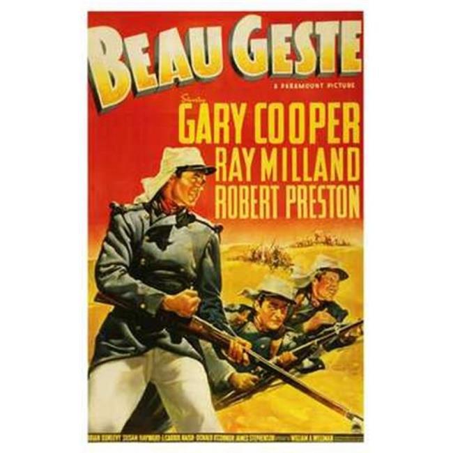 Posterazzi MOV198613 Beau Geste Movie Poster - 11 x 17 in. - image 1 de 1