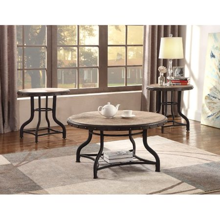 Pleasing Crown Mark Kenneth 3 Piece Cocktail Table Set Beutiful Home Inspiration Xortanetmahrainfo