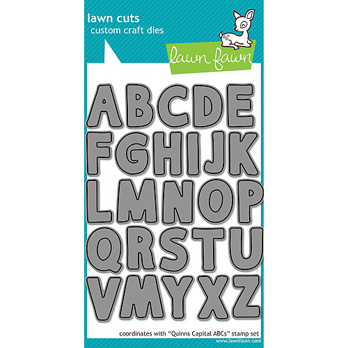 Lawn Cuts Custom Craft Die-Quinns Capital ABCs