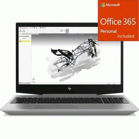 "HP ZBook 15v G5 15.6"" LCD Mobile Workstation - Intel Core i7 + Office 365 Bundle"
