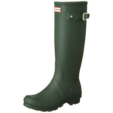 Hunter WFT1000RMA-HGR : Women's Original Tall Snow Boot Green (5 B(M) US Women)