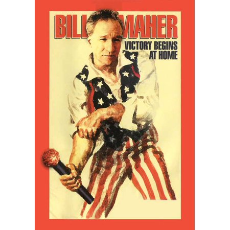 Bill Maher: Victory Begins at Home POSTER Movie Mini Promo - Halloween Miis Wii
