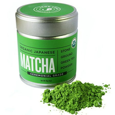 Organic Japanese Matcha Green Ceremonial Grade Tea Powder