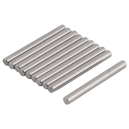 Straight Retaining 304 Stainless Steel Dowel Pins Rod Fasten Elements 3mm x 30mm