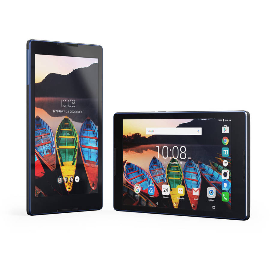 """Lenovo TAB3 with WiFi 8"""" Touchscreen Tablet PC Featuring Android 6.0 (Marshmallow) Operating System"""