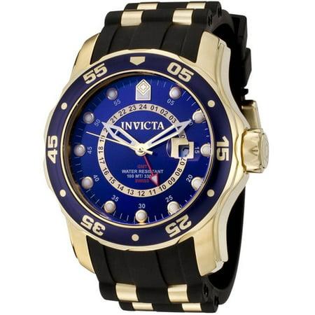 Automatic Gmt Men Watch - Men's 6993 Pro Diver Quartz GMT Blue Dial Watch