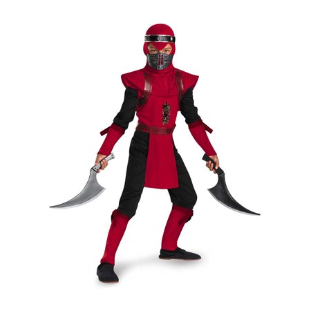Child Red Viper Ninja Costume Disguise 50534